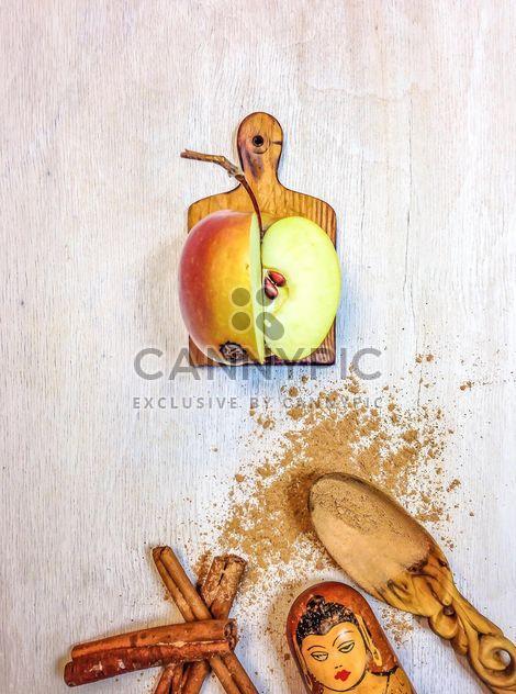 Manzana con canela -  image #198987 gratis