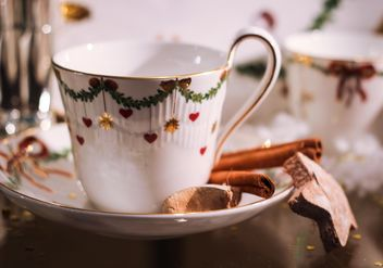 Christmas tea cup - Kostenloses image #199047