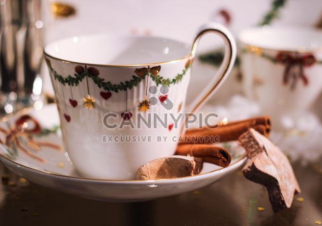 Xícara de chá de Natal - Free image #199047