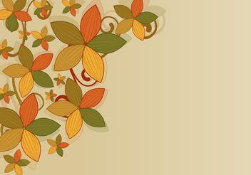 Flower Background Vector - Free vector #199487