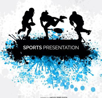 Sports grunge banner - Free vector #199617