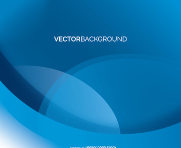 Abstract blue background vector - Free vector #199637