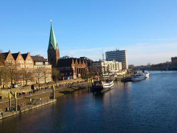 Weser river - image #200327 gratis