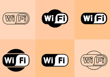 Wifi Logo Vectors - бесплатный vector #200427
