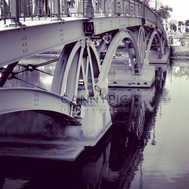 Pont sur la rivière, Moscou - Free image #200687