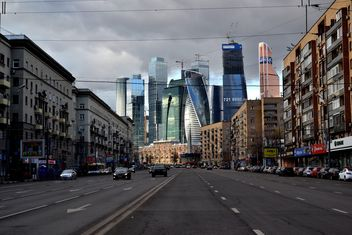 View on Moscow city buildings - бесплатный image #200717