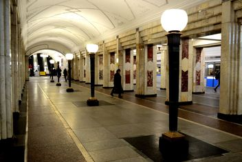 People at Moscow subway - image #200727 gratis