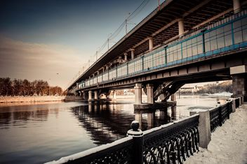 Bridge across the Moscow River - image #200737 gratis