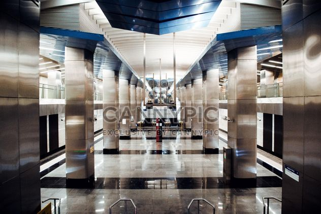 Interior of Moscow subway station - Free image #200747