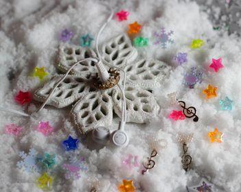 glitter snowflake - image gratuit(e) #200797