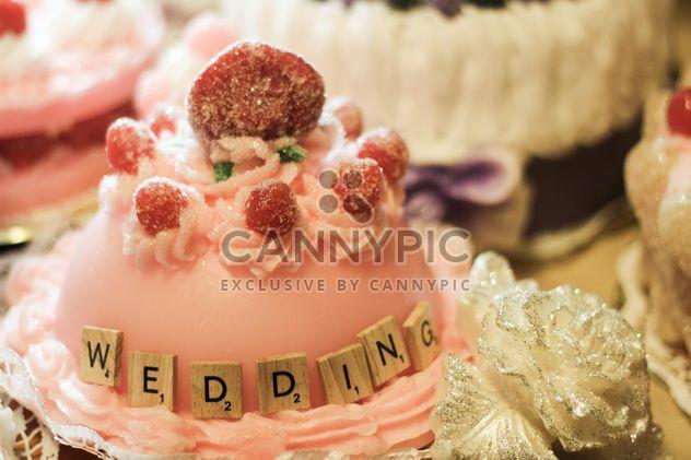 romantische Hochzeitstorte - Kostenloses image #200817