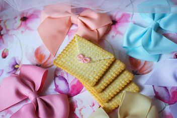 Cookies With A colorful Bows - Free image #201017