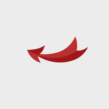 Free Vector Red Arrow - Free vector #201957