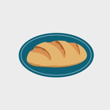 Bread Label Vector - vector #202067 gratis