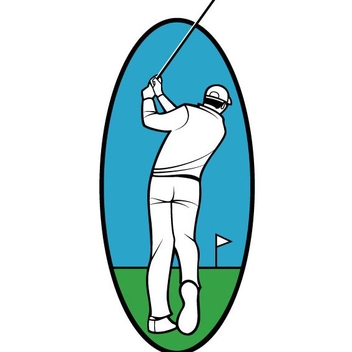 Free Vector Golf Player - Free vector #202317