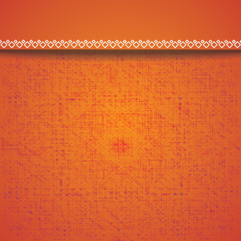 Textured Orange Vector Background - бесплатный vector #202517