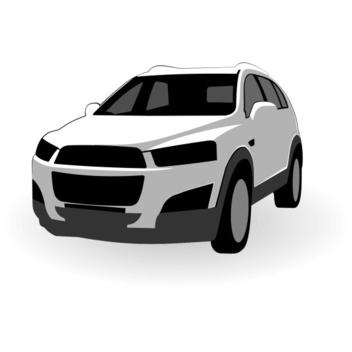 Free Vector Chevrolet Captiva Vector - vector gratuit #202657