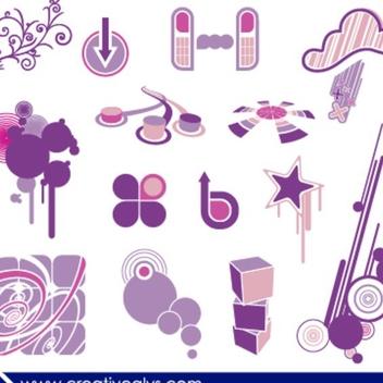 Creative Design Elements - Free vector #202677