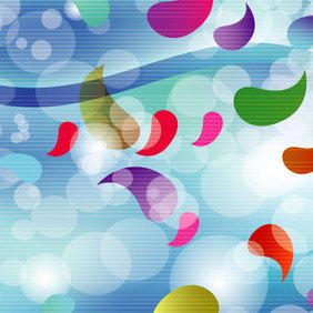 Abstract Enjoybol Vector Design - Free vector #202807