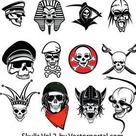 Skull Vector Pack - Free vector #202817
