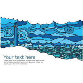Landscape Postcard - бесплатный vector #202857