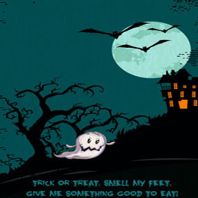 Free Halloween Illustration #2 - Free vector #203047