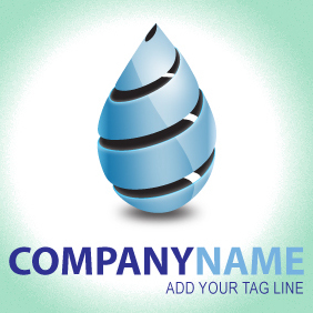 Beautiful Company Logo - vector gratuit(e) #203647