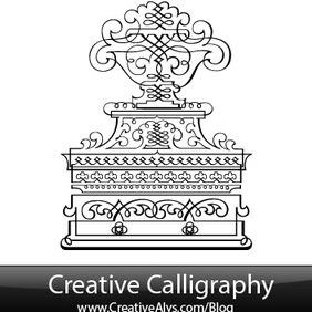 Creative Calligraphy - бесплатный vector #203667