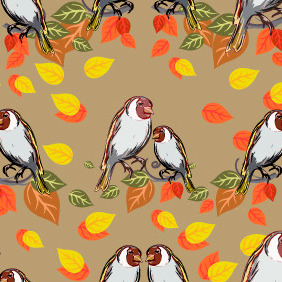 Seamless Pattern 209 - Free vector #203687