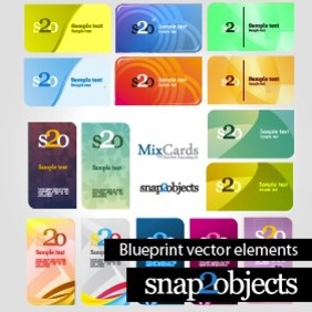 Free Vector Business Card Template Designs - vector #204307 gratis