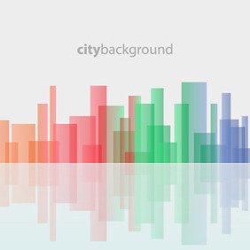 Free Vector Of The Day #53: City Background - Free vector #204417