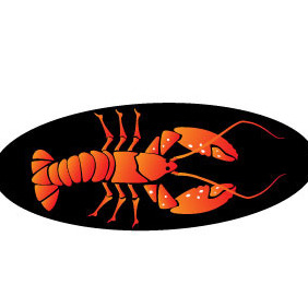 Lobster Image - vector gratuit(e) #204447