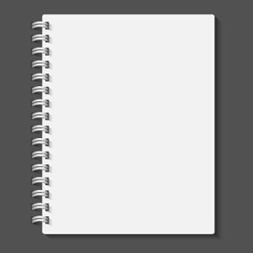 FREE VECTOR OF THE DAY #46: VECTOR NOTEBOOK - Free vector #204527