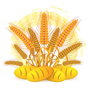 Wheat Illustration - vector gratuit #204667
