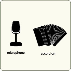 Music Instruments 10 - vector gratuit #204767