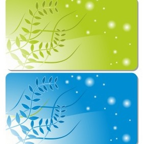 Gift Or Credit Card Templates - vector #205047 gratis