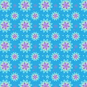 A Beautiful Vibrant Petal Seamless Vector Pattern - Free vector #205057
