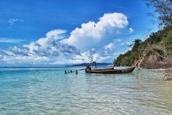 thailand,bamboo island - image gratuit #205077