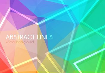 Abstract Lines Background - vector gratuit #205157