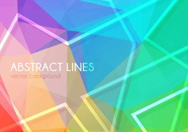 Abstract Lines Background - Free vector #205157
