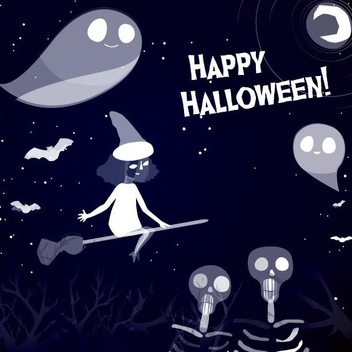 Halloween Bundle - vector gratuit #205317