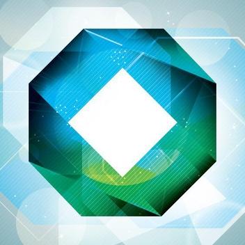 Octagonal Shape - vector gratuit #205457