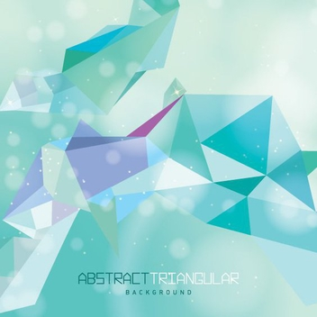 Abstract Triangular Background - Free vector #205507