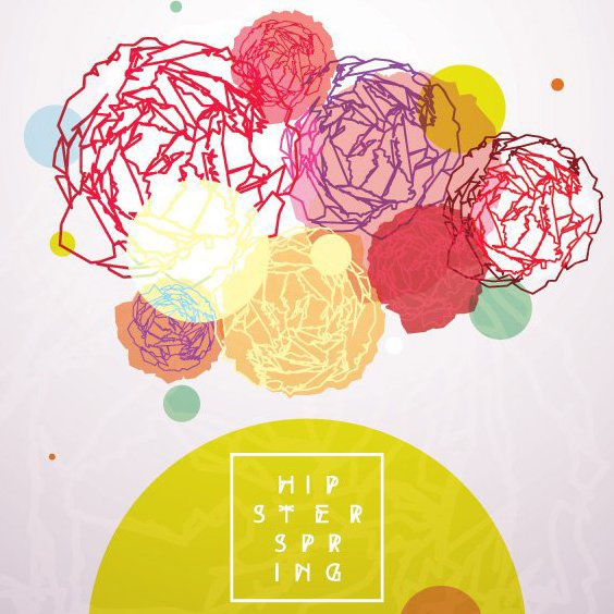 Hipster Spring - Free vector #205667
