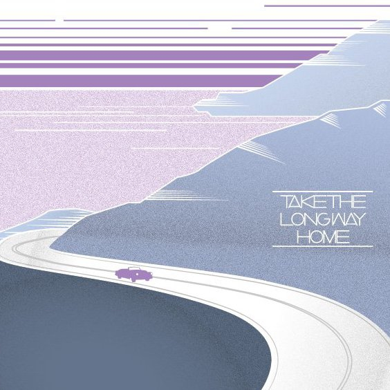 Prendre le Long Way Home - vector gratuit #205697