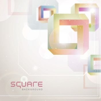 Square Background - vector gratuit #205847