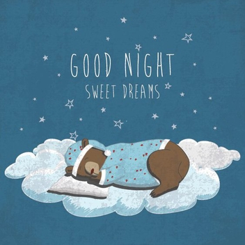 Good Night - vector gratuit #205947