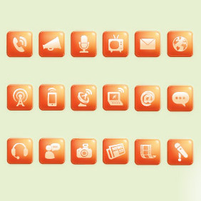 Media Icons - Free vector #206067