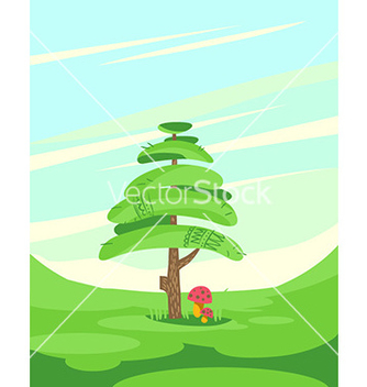 Free posing tree abstract vector - Kostenloses vector #206247