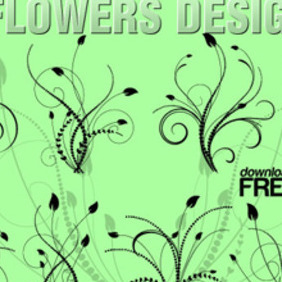 Vector Floral Design - Free vector #206277